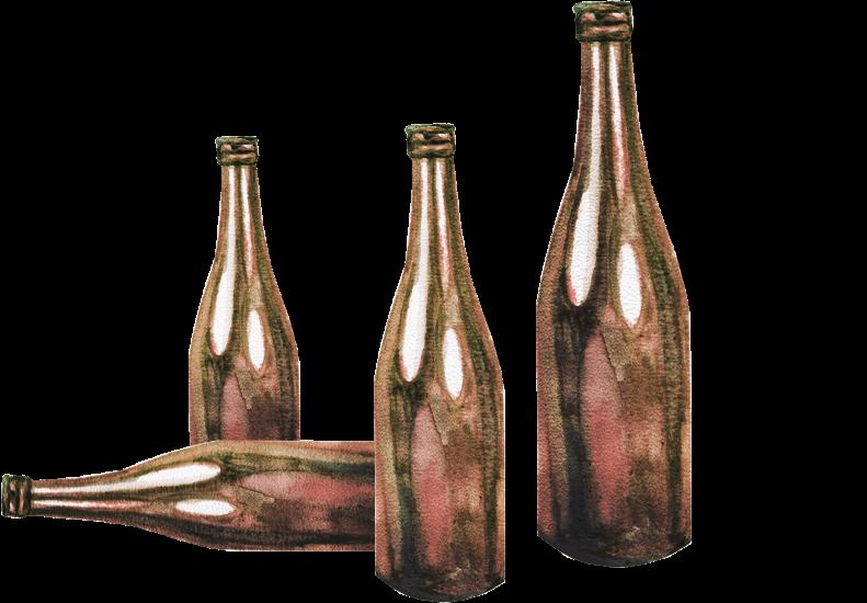 Ilustracja butelek.
